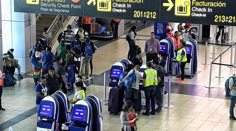 pasajeros y equipaje