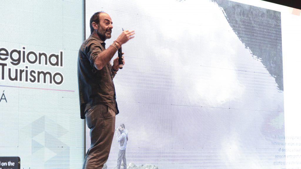 Iñigo Maneiro durante COREHOTU 2019