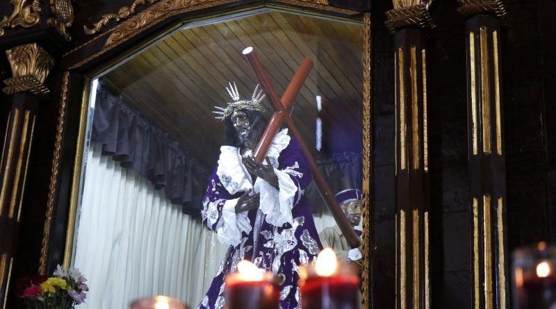 Imagen Cristo Negro Portobelo
