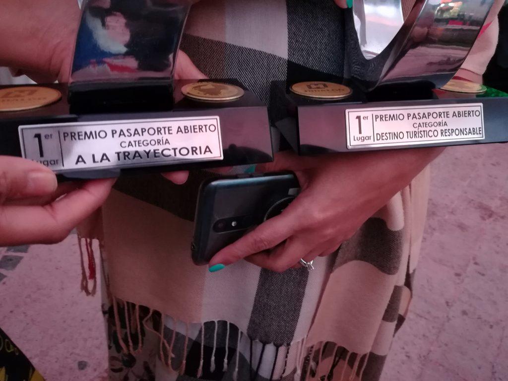 Entrega de los Premios Pasaporte Abierto 2019 en Hidalgo México
