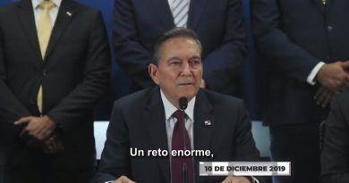 Designación del Procurador General de la Nación, por el Presidente Laurentino Cortizo